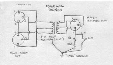 building a transformer balanced mic splitter bgilbertsound rh bgilbertsound com 4 Pin XLR Wiring-Diagram XLR Cable Wiring Diagram