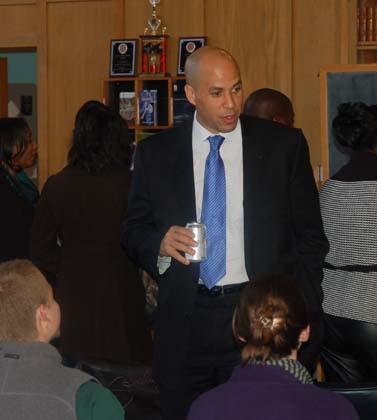 Mayor Booker at UTC