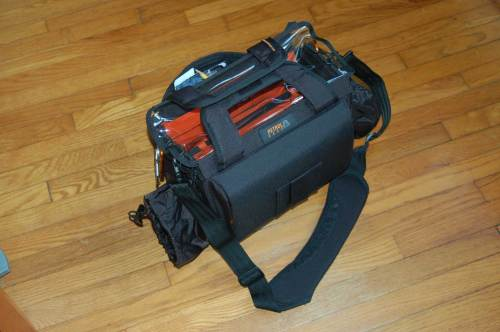 The Petrol small Eargonizer bag