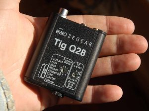 The Mozegear Tig Q28 lockbox. The camera department loves the small size and light weight, especially with Red cameras where space to mount things is at a premium.