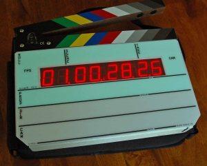 My Denecke TS-3 timecode slate