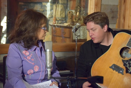 Loretta Lynn with Shawn Camp